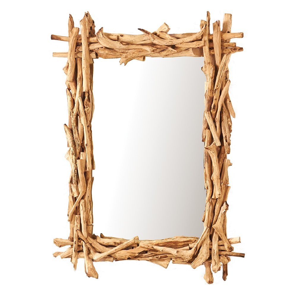 Two's Company Tozai Driftwood Wall Mirror