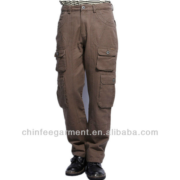 Mens Cargo Pants With Many Pockets Mens Cargo Pants With Side ...