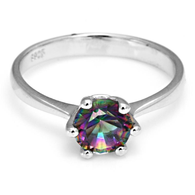 Aliexpress.com : Buy Natural Mystic Fire Rainbow Topaz