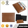 Colorful wholesale customized genuine leather place card holder fancy id card holder