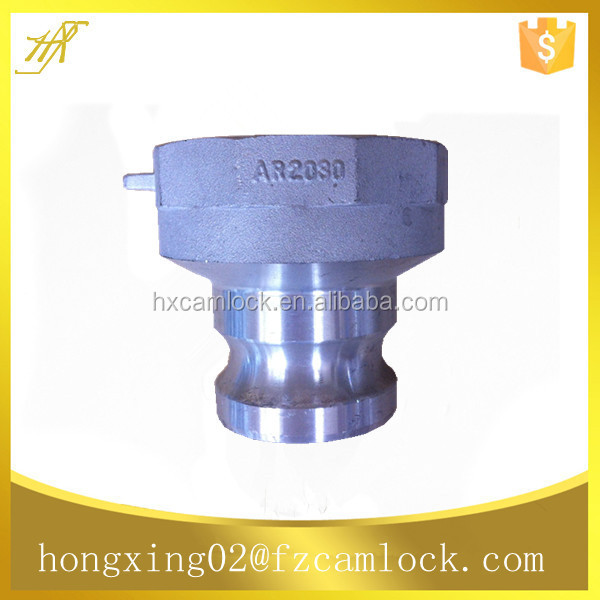aluminum reducing camlock coupling, reducing quick coupling type AR