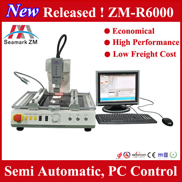 New released ! new bga reball rework station ZM-R6000 for laptop motherboard ps3 controller repair
