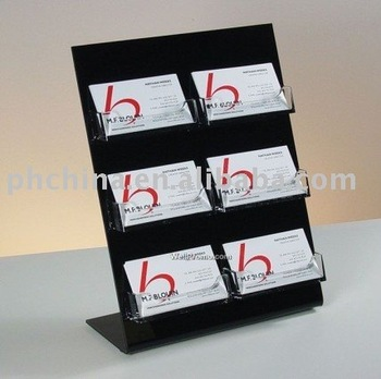 Jnc40 Desktop Acrylic Business Card Display StandBusiness Card Adorable Business Card Display Stands