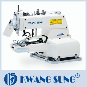 KS-373 4 Holes Flat Button Sewing Machine For Sale