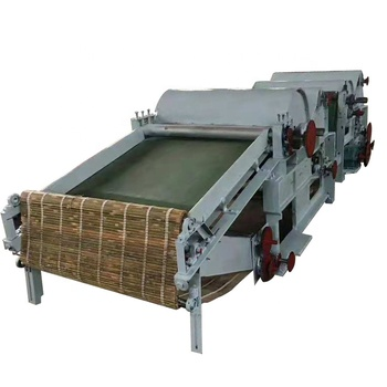 SL600-1 fiber opening and cleaning machine 4 rollers for laser and polyester with 2 year warranty