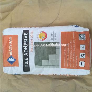 Excellent Wear Resistance Porcelain Floor Tile Adhesive Cement Glue