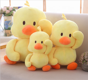 Brand Big Yellow Duck Stuffed Animals Plush Toy,Cute Big Yellow Duck plush toys For Birthday baby gift size 12cm-50cm
