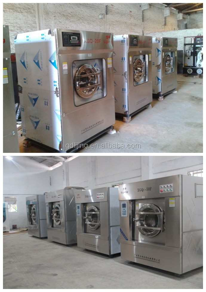 50kg Hot Sale Ethiopia Hotel Used Commercial Laundry Washing ...