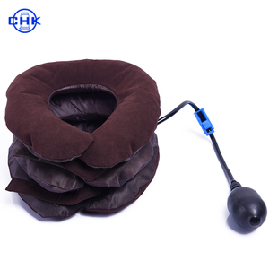 Inflatable Neck Brace Traction Collar Support Sleep Well Relieve Pain Cervical Neck Traction Device
