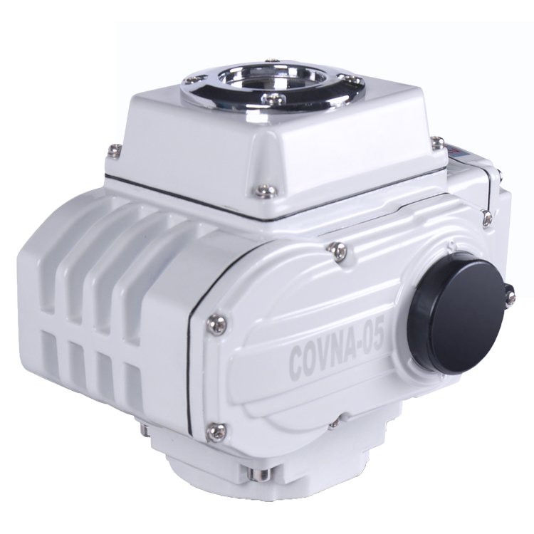 24V DC Ball Valve 90 Degree Rotary Electric Actuator