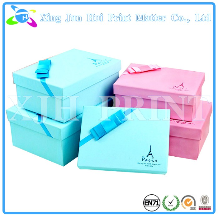Hand made paper box gift box packaging box