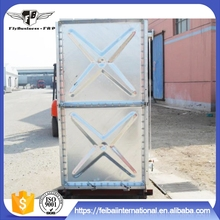 Hot-dipped galvanized pressed steel water tank,Large capacity galvanized water pressure tanks