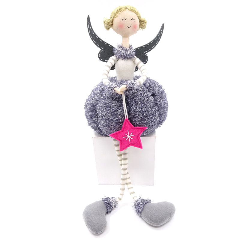 48.5CM sitting christmas angel party decoration