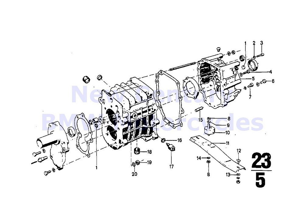 BMW Genuine Motorcycle Gearbox Switch Gasket Ring A 12.2 X 20-AL R80G/S R80ST R65 R80 R80RT R100R R100R Mystik R100/7T R100/T R100CS R100RS R100RT R100S R60/6 R75/6 R90/6 R90S R60/7 R75/7 R80 R80RT R1