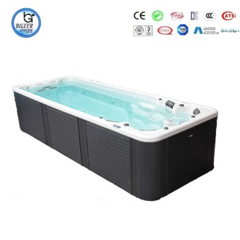 Used Fiberglass Pools Adult Acrylic Freestanding With Pipe Protect ...