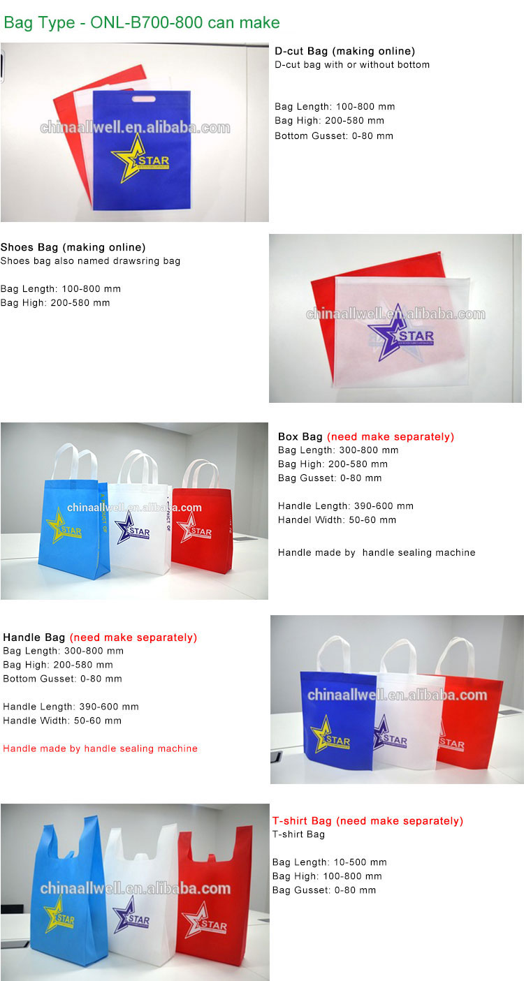 Cost-effective Automatic Widely Used Non woven Fabric Cloth Bag Making Machine Price