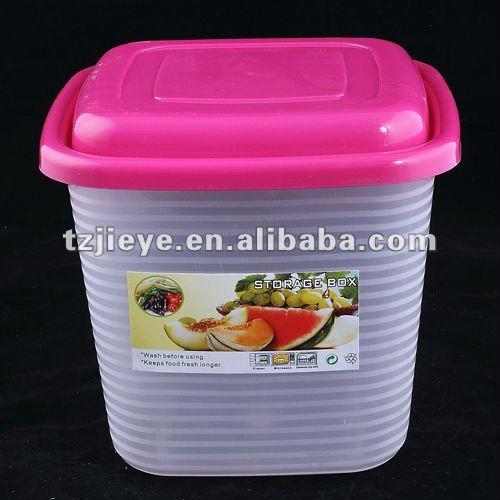 Kitchen Square Plastic Food Storage Container With Lid(3000ml) - Buy Bulk  Food Storage Containers,Kitchen Pantry Storage Containers,Large Plastic ...