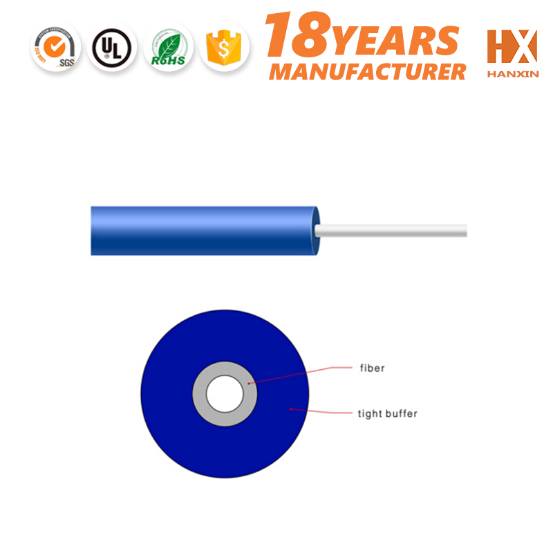 Free from electric high speed 1 2 4 conductors fibre cable