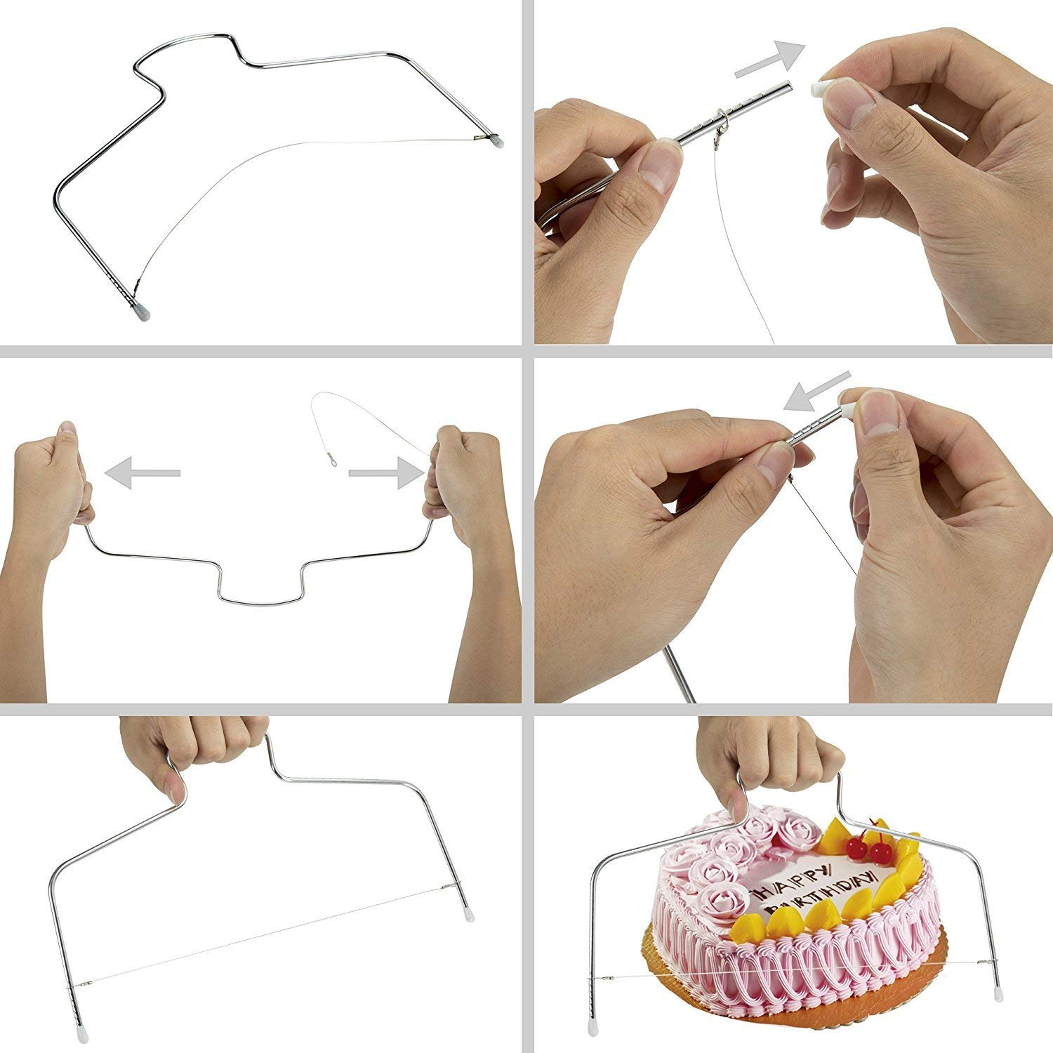 TimedMALL Cake Decorating Supplies with Cake Turntable Stand/Piping Nozzles Rotating Flower Lifter/Pastry Bag/Icing Spatula and Smoother/Cake Pen/plastic couplers and more, Best for Cake Decorating