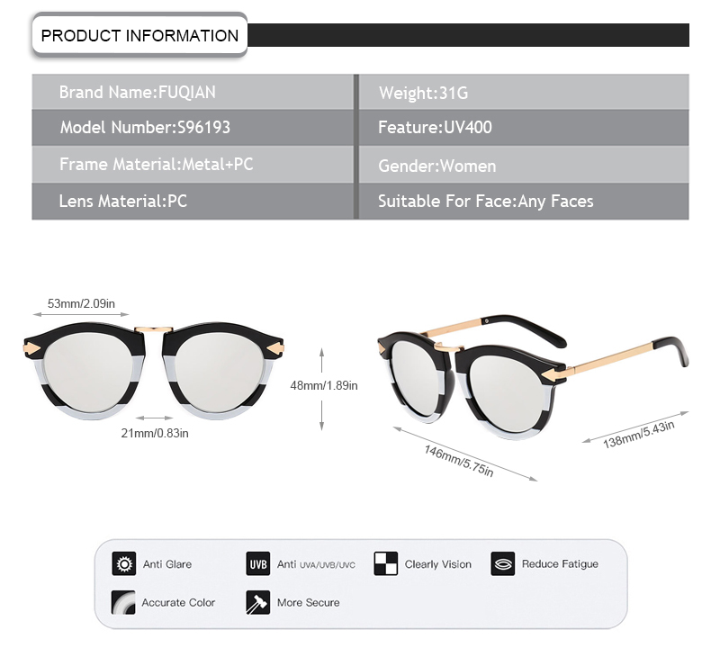 Fuqian stylish glasses for sale online buy now-7