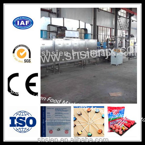 Excellent quality hard candy making plant with CE certificate