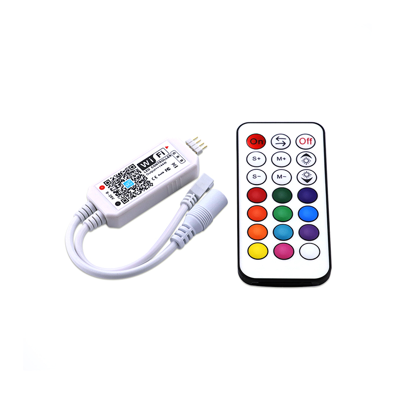 DC12V 24V 5V Phone APP Google Home Alexa WiFi Bluetooth IR RF CCT RGB RGBW Pixel SPI MINI WIFI Dimmer Controller