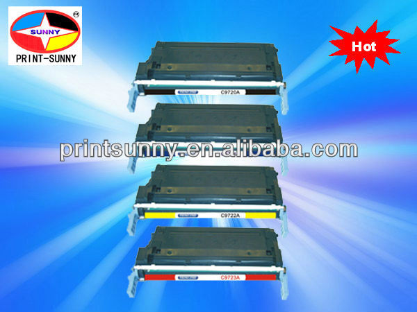 Color toner for HP9730,9731,9732,9733