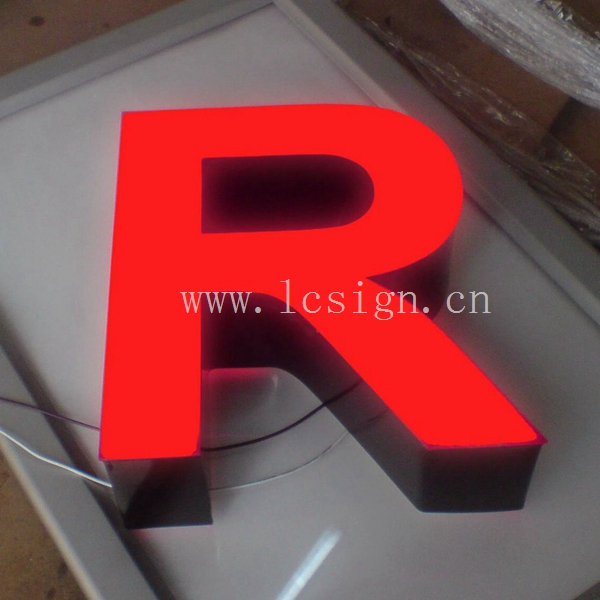 resin led letterresin led letter signplastic light box letter sign