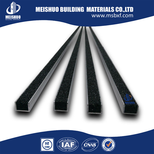 Self Adhesive Stair Treads/Stair Tread Cover with Aluminum Alloy Base (MSSNC-8)