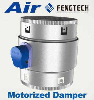 Motorized Damper With Metal Barrel Buy Motorized Damper