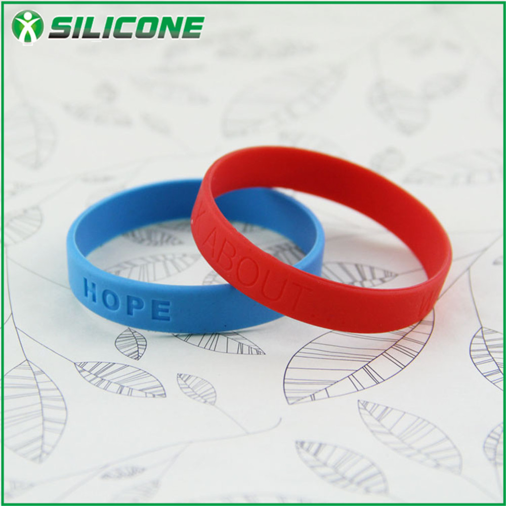 Sport star style accessory name rubber band bracelet BLN-01