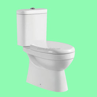 Ceramic bathroom sets toilet gravity teo-piece toilet S trap bathroom sanitary ware toilet