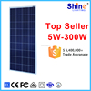 200W poly crystalline solar plate, PV shenzhen solar panel with first class material