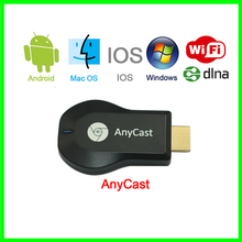 Free shipping ! HD1080P AnyCast M2 Plus Airplay Wifi Display TV Dongle Receiver DLNA Easy Sharing Mini TV Stick For Android IOS