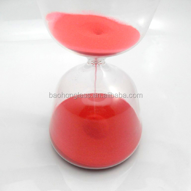 Wholesale Rustic Home Decor Large Hourglass Glass Sand Timer 2