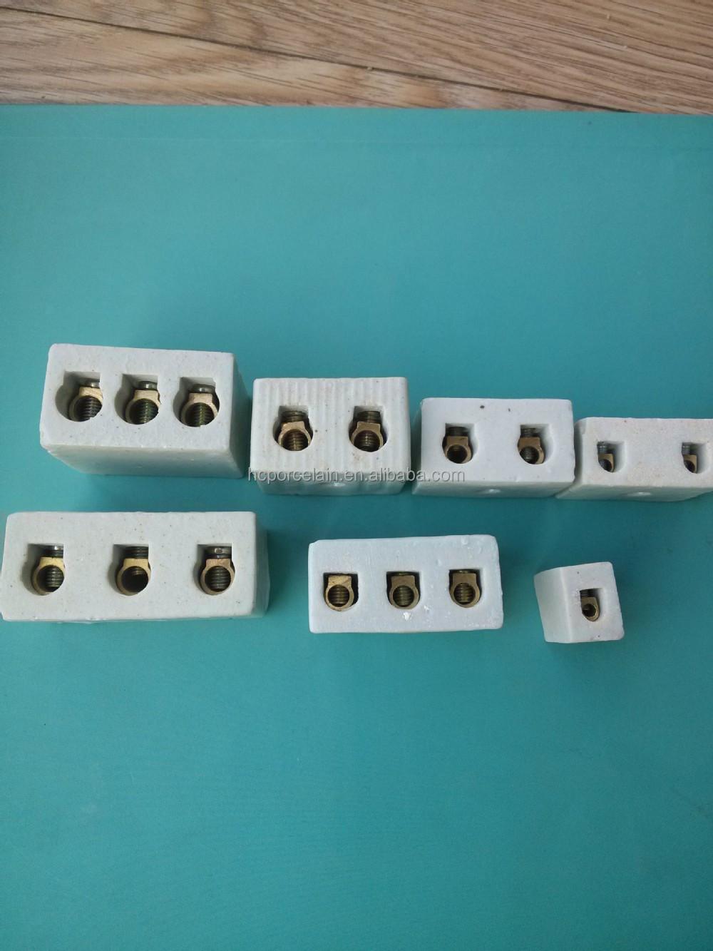 H 1512 Porcelain Terminal Block Ceramic Electric Connector