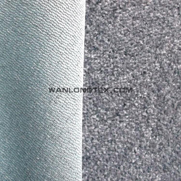 100 Polyester Wool Like Velvet Corduroy Upholstery Fabric