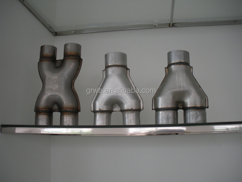 Zinc-plated Exhaust Y Pipe Transition