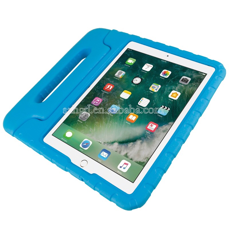 For ipad case for new ipad 9.7 2017 case, eva foam protective tablet case for kids