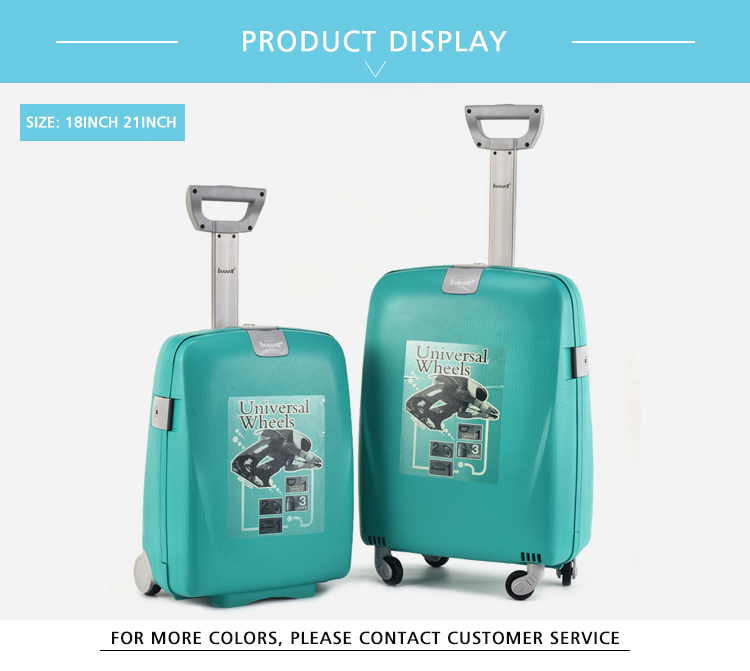 BUBULE New Design Popular PP Travel Suitcase Luggage Sets