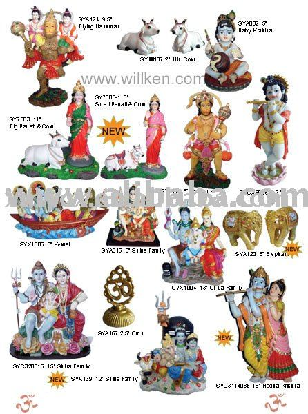 Resin Indian God & Goddesses,Murti Items,Religious Statues - Buy ...