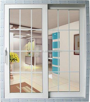 Moderno Puertas Correderas De Vidrio Exterior Para Balc 243 N