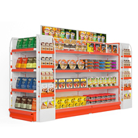 Wholesale supermarket shelves retail store acrylic display rack snack display racks