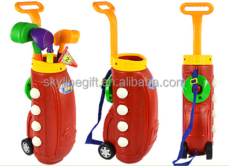 High Quality Golf Toys Kids Golf Set Toy Plastic Golf Club
