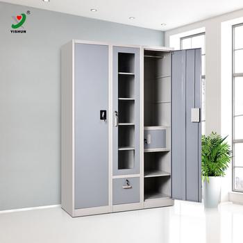 Indian Metal Wardrobe Design Bedroom Deluxe Steel Almirah