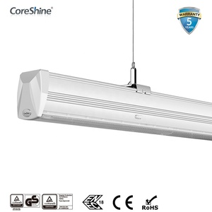 35W 50W 70W 5FT LED Linear Lighting Trunking System Indoor Light With 160LM/W For Supermarket and Warehouse Application