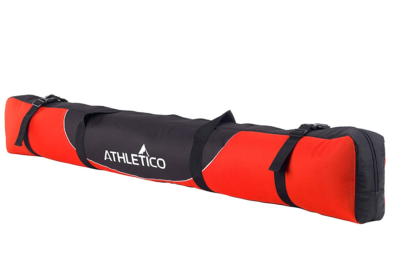 e00caaa2a7 Get Quotations · Athletico Mogul Padded Ski Bag - Fully Padded Single Ski  Travel Bag