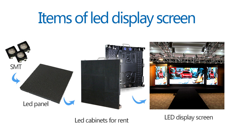 P3 SMD indoor LED display module p3 Full color led video panel