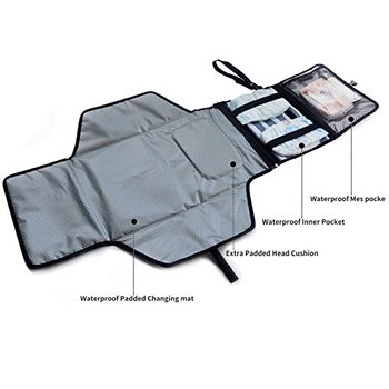 Portable Diaper Changing Pad Waterproof Travel Changing Pad Baby