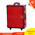 2-Wheel trolley CE Compliance aluminium lighted makeup train case with light